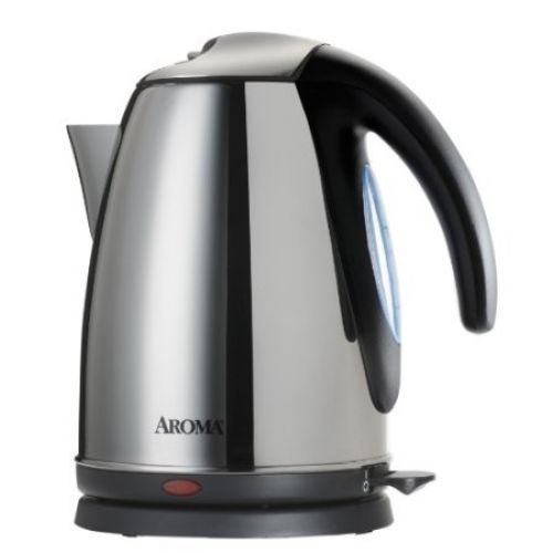 Aroma AWK-270SS 7-Cup Electric Water Kettle, Stainless Steel