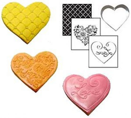 Country Kitchen Cookie Cutter Texture Sets