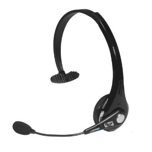 Car and Driver CD-8000 Noise Cancelling Over the Head BlueTooth Headset (Black)