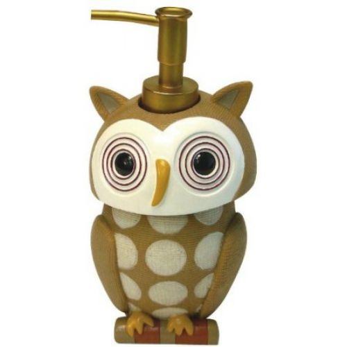 Allure Home Creations Hoot Lotion Bottle