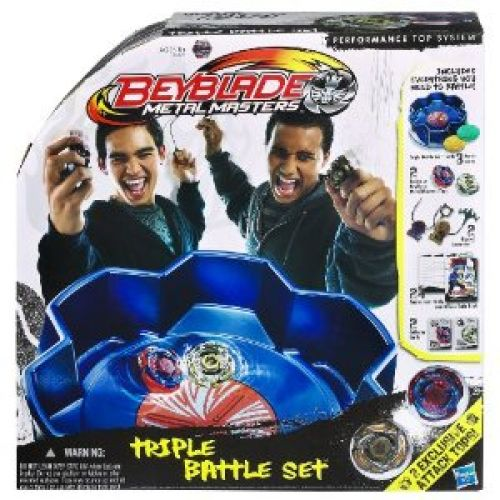 Beyblade Metal Masters Triple Battle Set