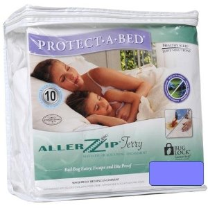 Protect-A-Bed AllerZip Terry Allergy Mattress Protector