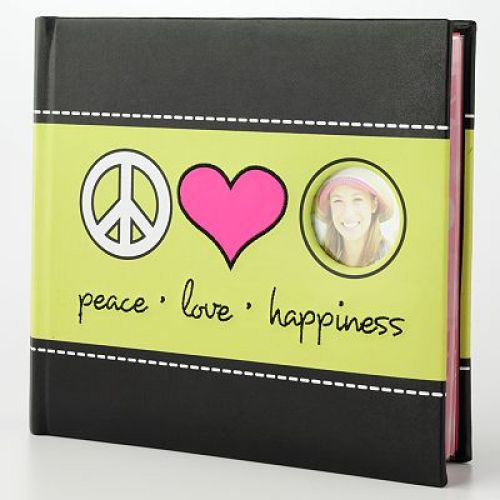 """Peace, Love, Happiness"" Photo Album"