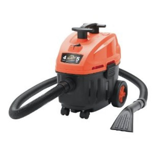 ArmorAll AA408 4 Gallon, 5 Peak HP, Garage and Car Vacuum, Orange/Black