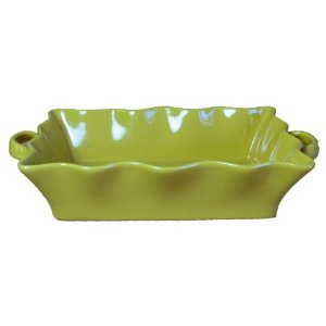 BIA Cordon Bleu Wavy 3-Quart Rectangle Baker, Marigold