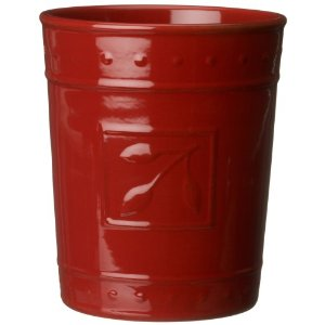 Signature Housewares Sorrento Tool Jar, Ruby