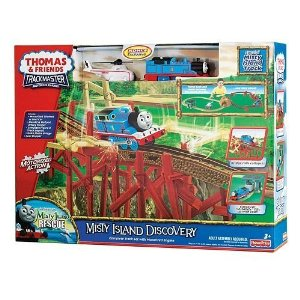 Fisher Price Thomas & Friends Misty Island Discovery Playset